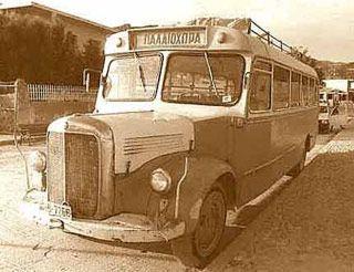 Public buses in Crete