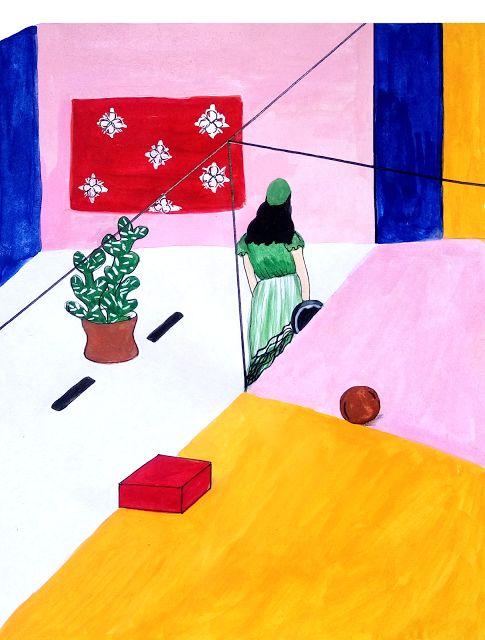 Aisyah Amiru | an illustrated diary: C O L O U R T H E R A P Y