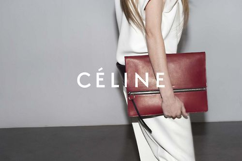 Celine big clutch. @thecoveteur