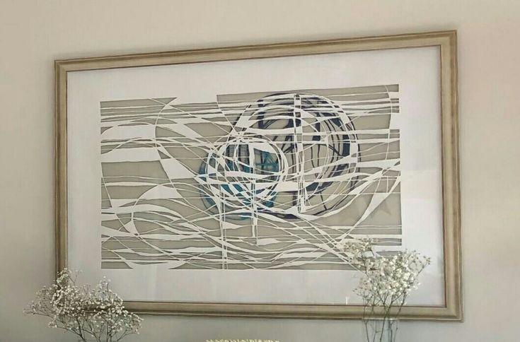 Papercut art.