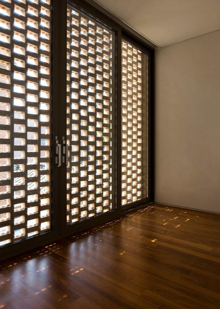 The West Village_Doojin Hwang Architects_perforated brickwork
