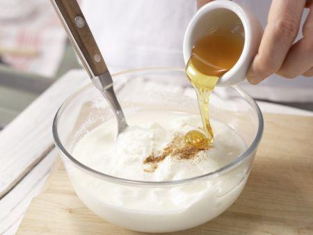 Hirse-Birnen-Müsli Zubereitung Schritt 5