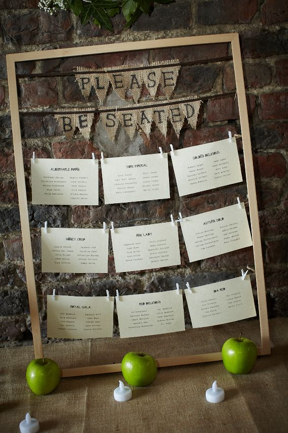 our barn wedding - table plan only in here http://designingweddings.net