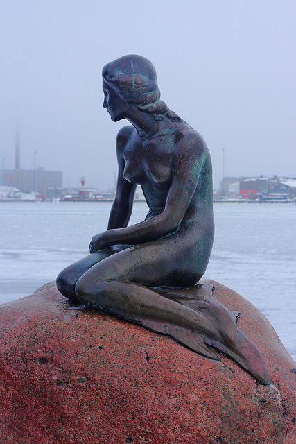 Little Mermaid, Copenhagen, Denmark by By Dimtze via Flickr @Jacob McPherson Richerson WE MUST GO HERE. PLEASE BABY.
