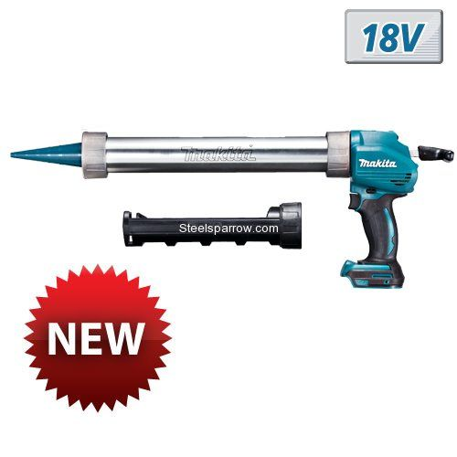 Ready for Shipping  Cordless Caulking Gun (18.0 V, Li-Ion, Without Battery),  Model - BCG180Z, Brand - Makita For more details contact us: info@steelsparrow.com Plz visit: http://www.steelsparrow.com/electrical-power-tools/cordless-caulking-gun.html