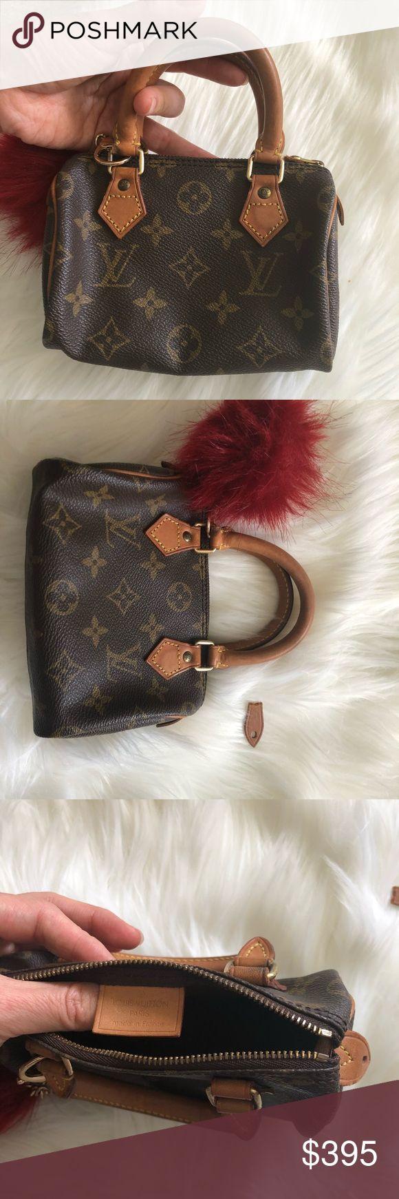 Authentic Louis Vuitton mini speedy Authentic Louis Vuitton mini speedy Louis Vuitton Bags Mini Bags