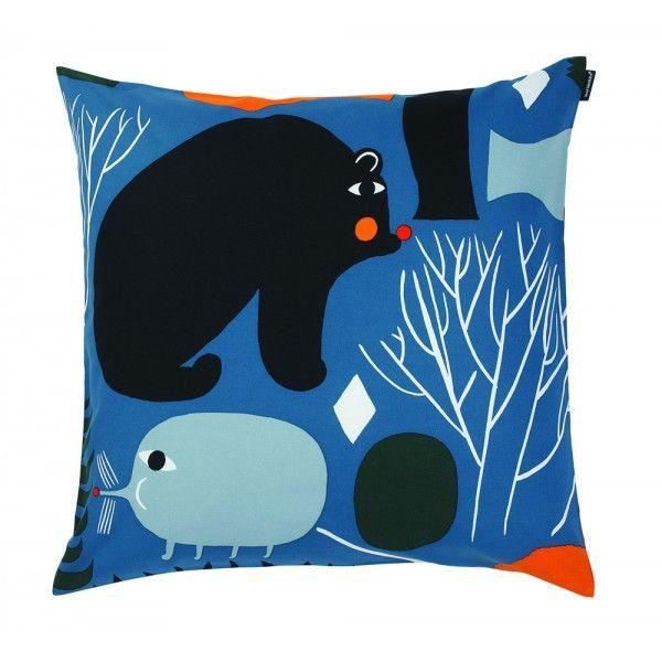 Marimekko Cushion Cover - Huhuli Multicolour – Kiitos living by design