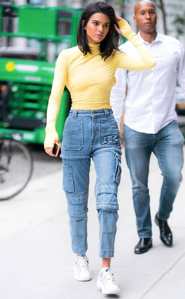 Anna Kendrick from Best Celeb Street Style From New York Fashion Week Spring 2019
