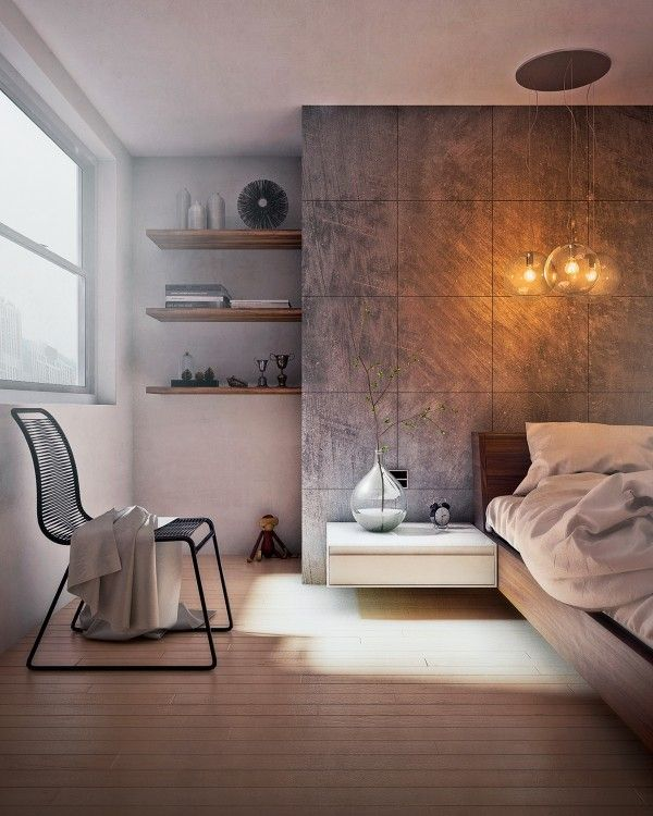 This pretty bedroom uses the natural sunlight to create a lovely zen feeling, perfect for saluting the sun without ever geting up.