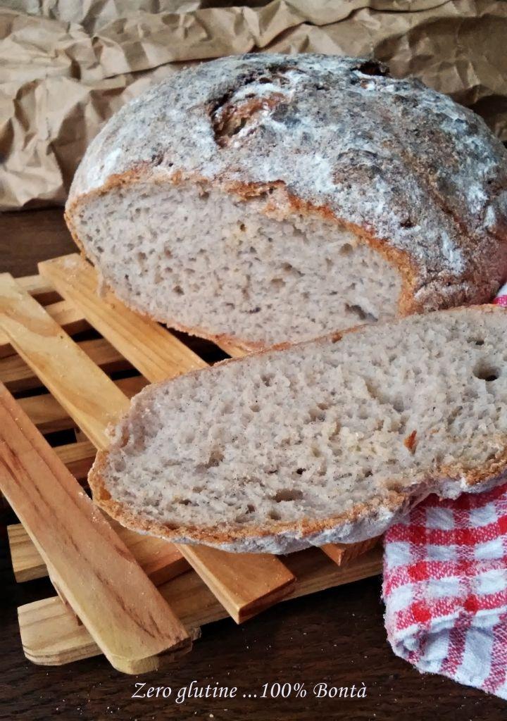 Pane rustico senza glutine con farina Glutabye