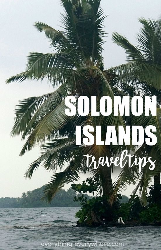 Solomon Islands is a nation comprised of a group of islands in the South Pacific Ocean. It is located east of Papua New Guinea. There is also another group of islands called Solomon Islands archipelago, which should not be confused with this one.