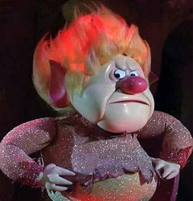 Heatmiser! Best Christmas villain ever!