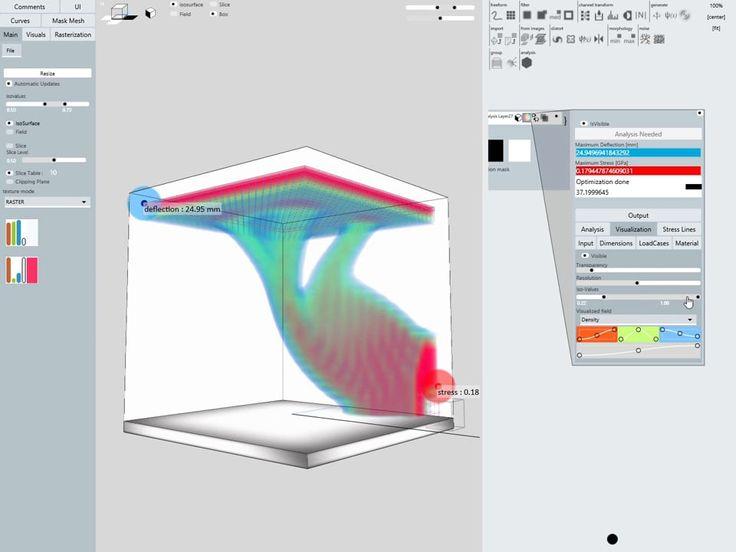 Topology Optimization in Monolith