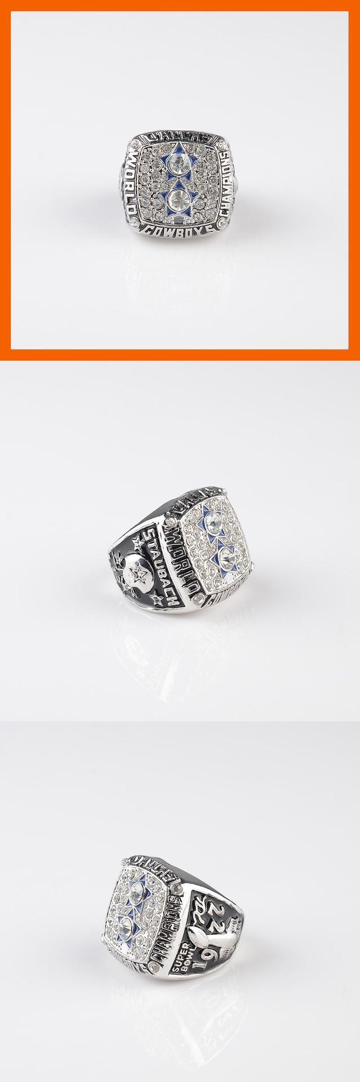 [Visit to Buy] 1977 DALLAS COWBOYS SUPER BOWL XII WORLD CHAMPIONSHIP RING US SIZE 8 9 10 11 12 13 14 AVAILABLE #Advertisement