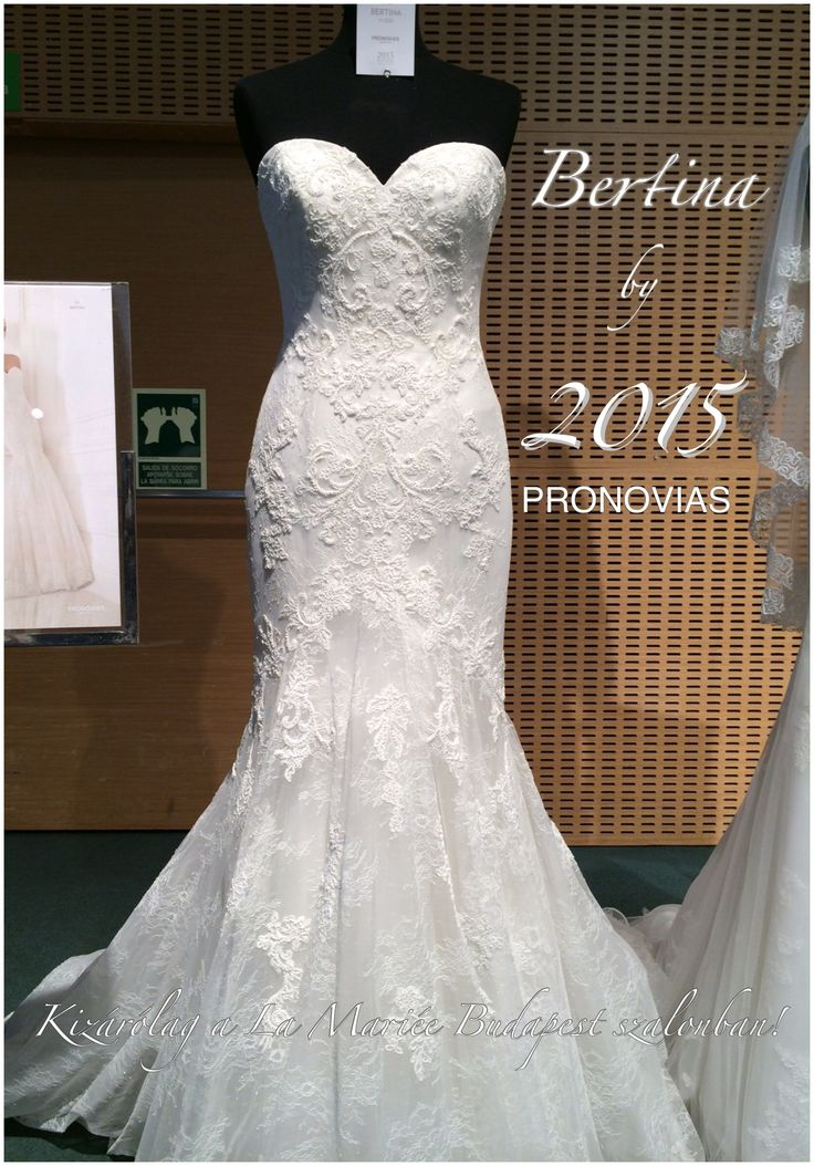 Bertina esküvői ruha by 2015 PRONOVIAS http://lamariee.hu/eskuvoi-ruha/pronovias-2015/bertina