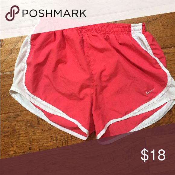 Nike shorts In great condition. Pretty  pink color. Will ship tomorrow! Nike Shorts