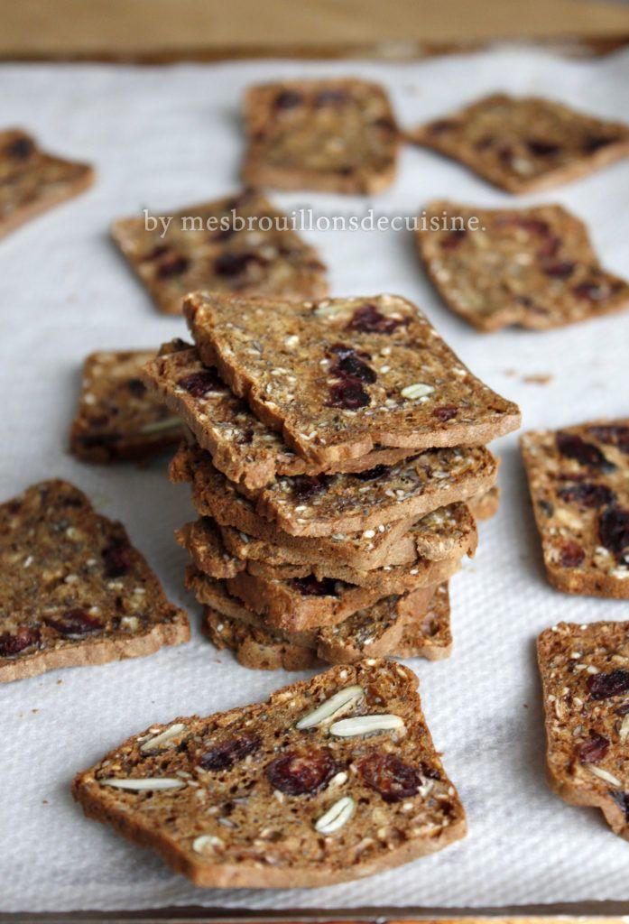Biscottes sucrées salées ultra croustillantes – Mes brouillons de cuisine