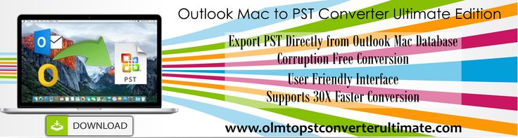 Export #olm to #pst, fast, accurately and safely with OLM to PST Converter Ultimate. https://www.macupdate.com/app/mac/56791/olm-to-pst-converter-ultimate