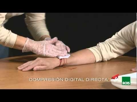 Primeros auxilios: hemorragias - YouTube