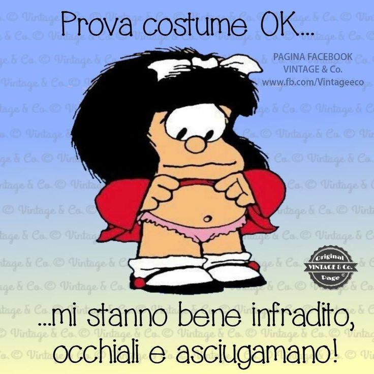Mafalda - prova costume ...
