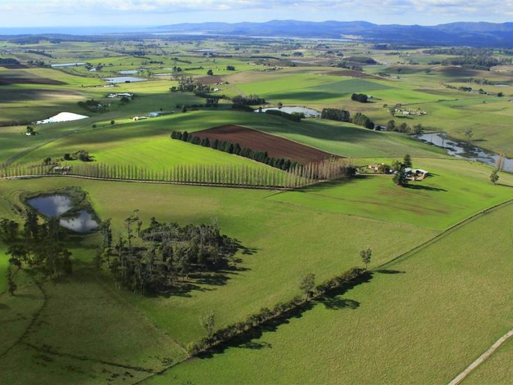 """For Sale: """"ORMESBY""""  The property has 2 homes, separate bungalow or sleepout, 2 large dams with water rights, bore, several sheds, 360 degree views from sea to mountains and ready to move in.  #Tasmania #ForSale #RealEstate #FarmForSale #LuxuryRealEstate #Farm #Agriculture"""