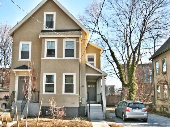 For sale: $1,549,000. Recently renovated two-family home in a preferred neighborhood convenient to Davis Square,Porter Square, the Red Line T, the Bike Path, Harvard University, numerous restaurant and shopping venues, and just steps to Danehy Park and Rindge Field Park & Tennis Courts. This sun-filled home with well proportioned rooms is in move-in condition and offers newer roof, electrical, plumbing, HVAC systems, Kitchens & Bathrooms, plus extensive HWF,spacious yard and ample d...