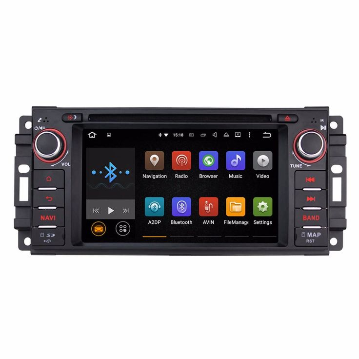 Android 5.1 Car DVD Player GPS Navi For Jeep Commander Grand Cherokee Patriot Compass Liberty Wrangler 2007 2008 2009 2010