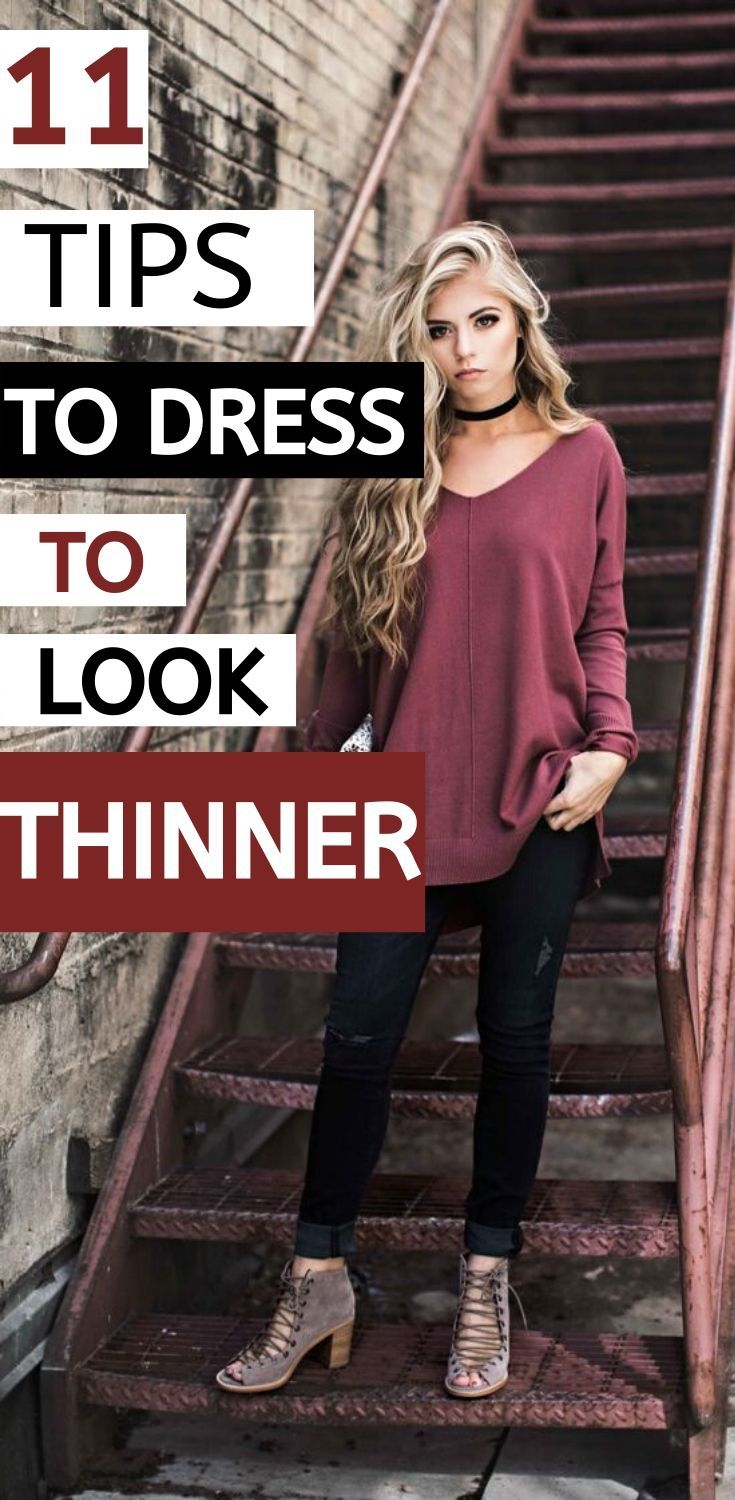 How To Look Skinny With Your Dress 11 Tips To Dress To