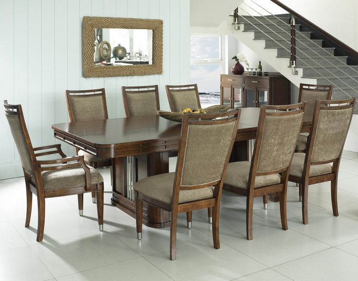 Seaside 9 Piece Table And Chairs By Fairmont Designs