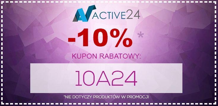"""10% rabatu na całość zamówienia dla każdego! Kod rabatowy to: 10A24 Należy go wpisać w koszyku w polu """"KUPON"""".  Nie przegap okazji!    Kod rabatowy nie łączy się z produktami w promocji.   #10% #kupon #okazja #promocja #rabat"""