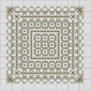 Tina's handicraft : cross stitch embroidery