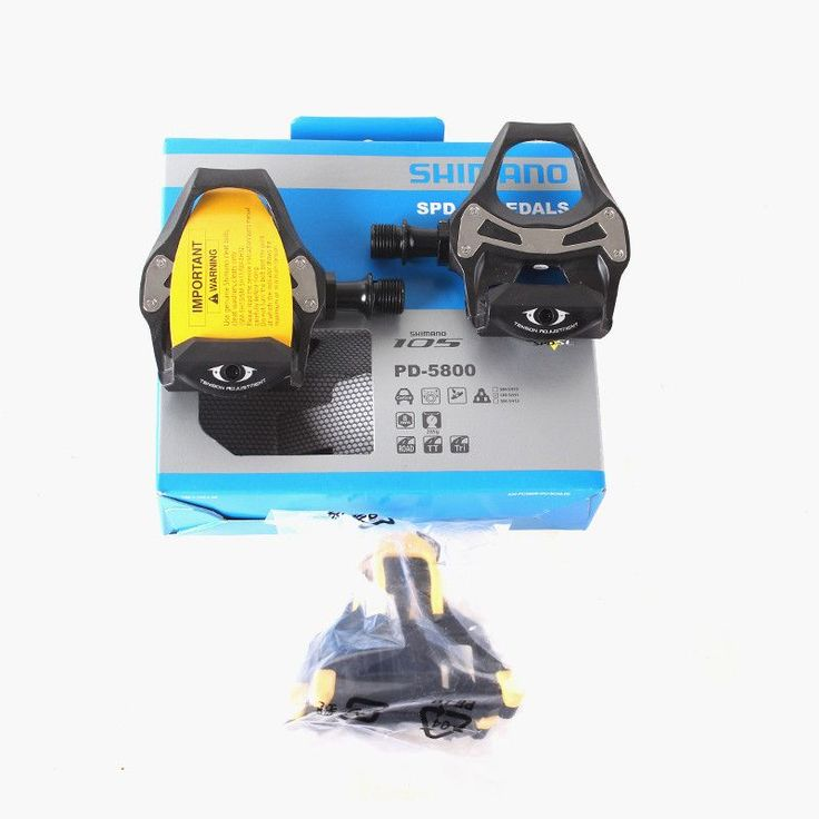 SHIMANO 105 PD 5800 Self-Locking SPD Pedals Components Using for Bicycle Racing Road Bike Parts