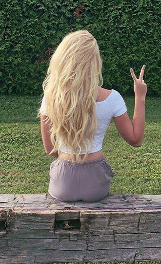 how to make hair bleach blonde