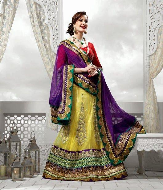 Indian Wedding Clothes | ... Collection | Indian Lehenga for Brides | Designer Bridal Lehenga