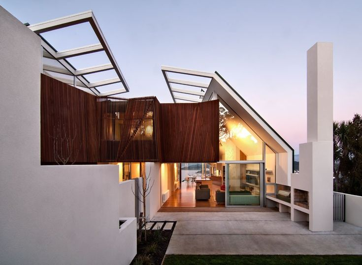 Best New Zealand Architecture Images On Pinterest - An amazingly beautiful modern waterfront house from new zealand