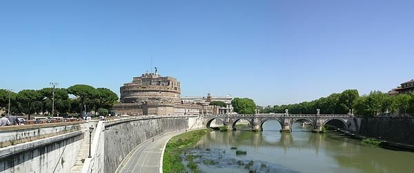 Castel Sant'Angelo panorama