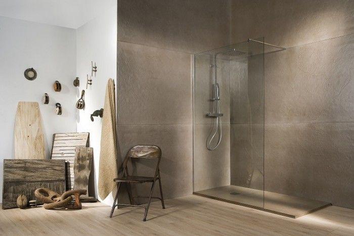 Cuarto de baño completo de estilo nórdico