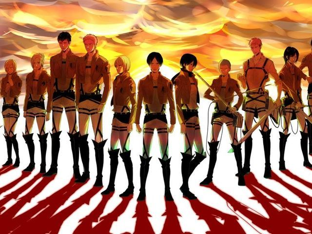 playbuzz- which AOT character are you? Im Armin