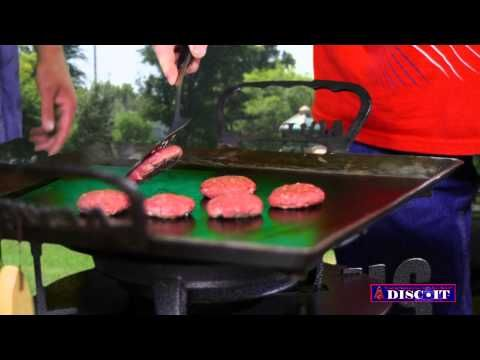 Game Day Beef Sliders with Fri-B-Que on the DISC-IT - Discada Plow Disc Cooker. Kevin Stewart joins us this week as we enjoy the NFL kickoff. Watch and learn how to make these quick and easy Game Day Beef Sliders at once on the DISC-IT Flat Skillet! #discada #discitgrill #cowboywok #texaswok #mexicanwok #DISC-IT #gameday #beefsliders