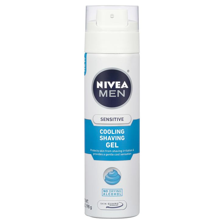 Nivea Sensitive Cooling Shave Gel for Men - 7 oz