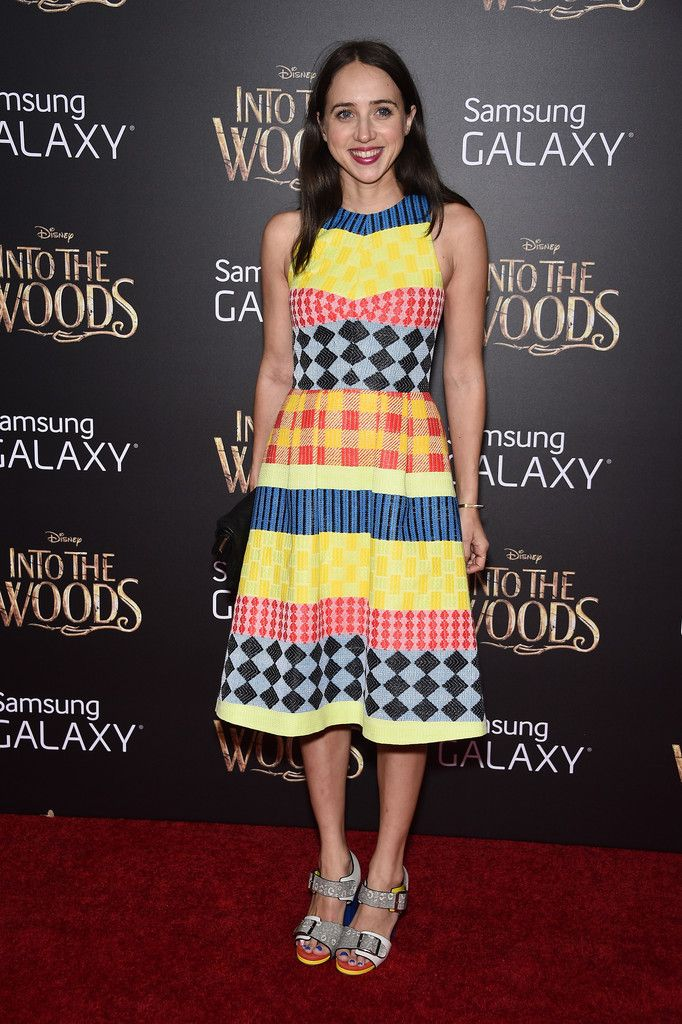 'Into the Woods' Premieres in NYC -Zoe Kazan