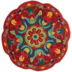 rugColors Multi, Round Rugs, Blue Green, Decor House, Awesome Pin, Rugs Rugs, Front Entry, Rugs Kitchens, Bright Colors