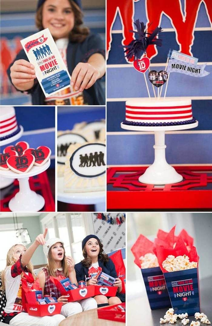 One Direction Themed Birthday Party with Lots of Really Great Ideas via Kara's Party Ideas Kara Allen KarasPartyIdeas.com #onedirection #onedirectionparty