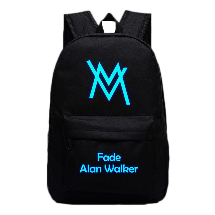 Music DJ Comedy Alan Walker Backpacks Luminous Bags For Teenagers Fade Faded Travel Bags High Quality School Bag Gifts Hip Hop #Affiliate