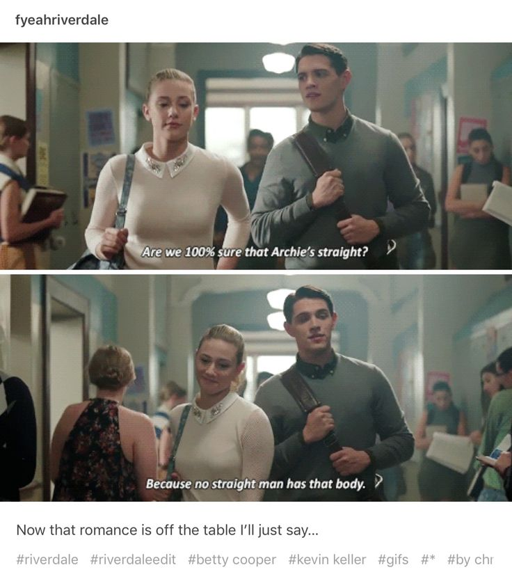 riverdale single guys Ummm, you guys what just happened on riverdale wednesday night's new episode was probably the biggest, most action-packed hour that the series has given us, and with only one episode.