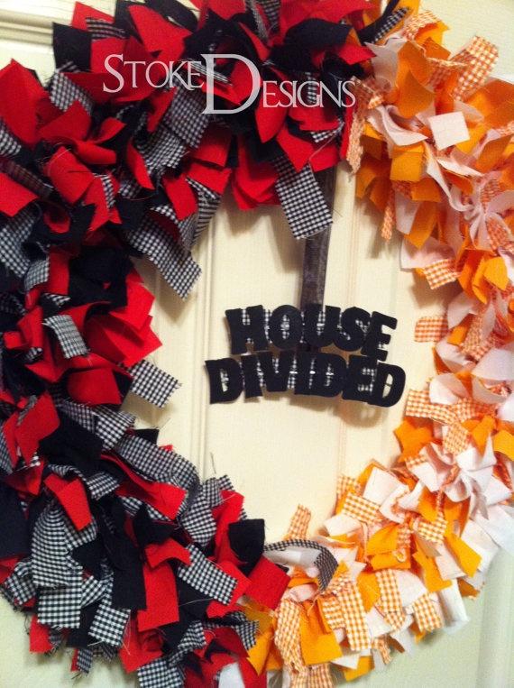 house divided....make for USC/UGA :)