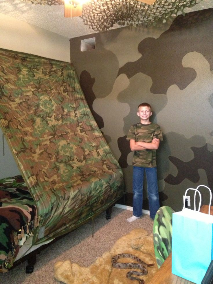 Where's kevin??  Camo wall was a hit with him. :)