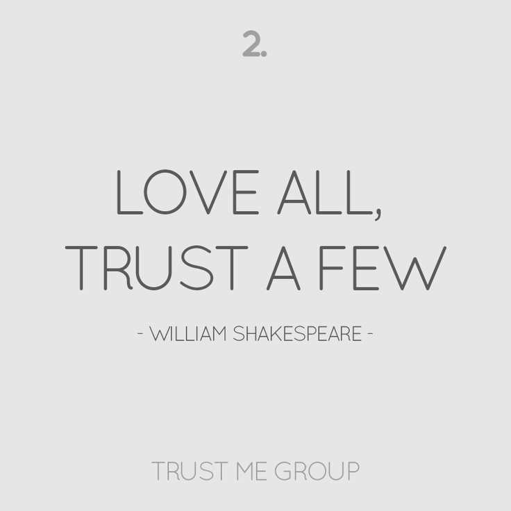 william shakespeare really enjoy almost all rely on some few
