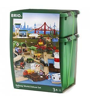 BRIO 33766 - Set completo mundo tren de juguete BRIO