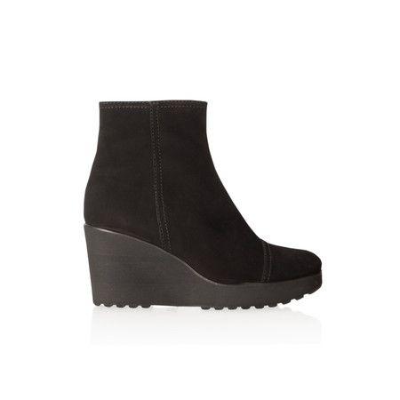 Kennel Und Schmenger Nala Wedge Ankle Boot - Black
